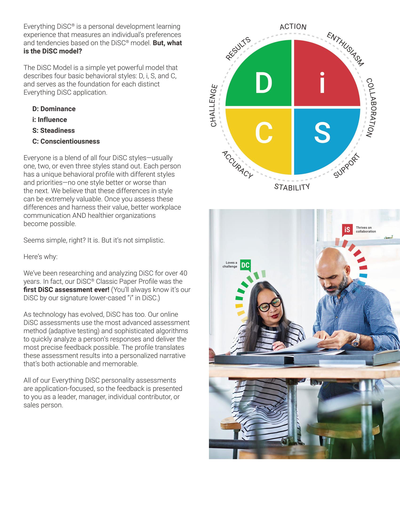 DISC assessment tools