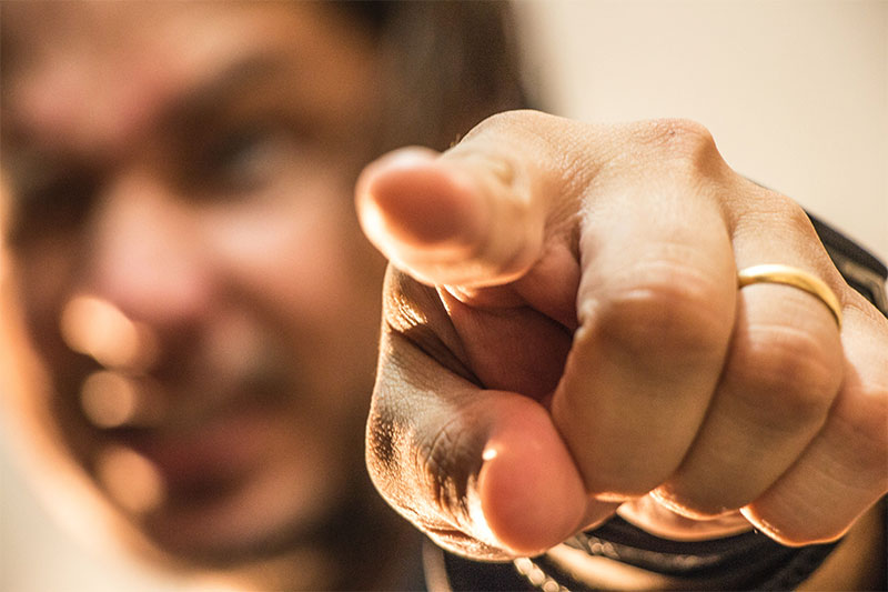man-pointing