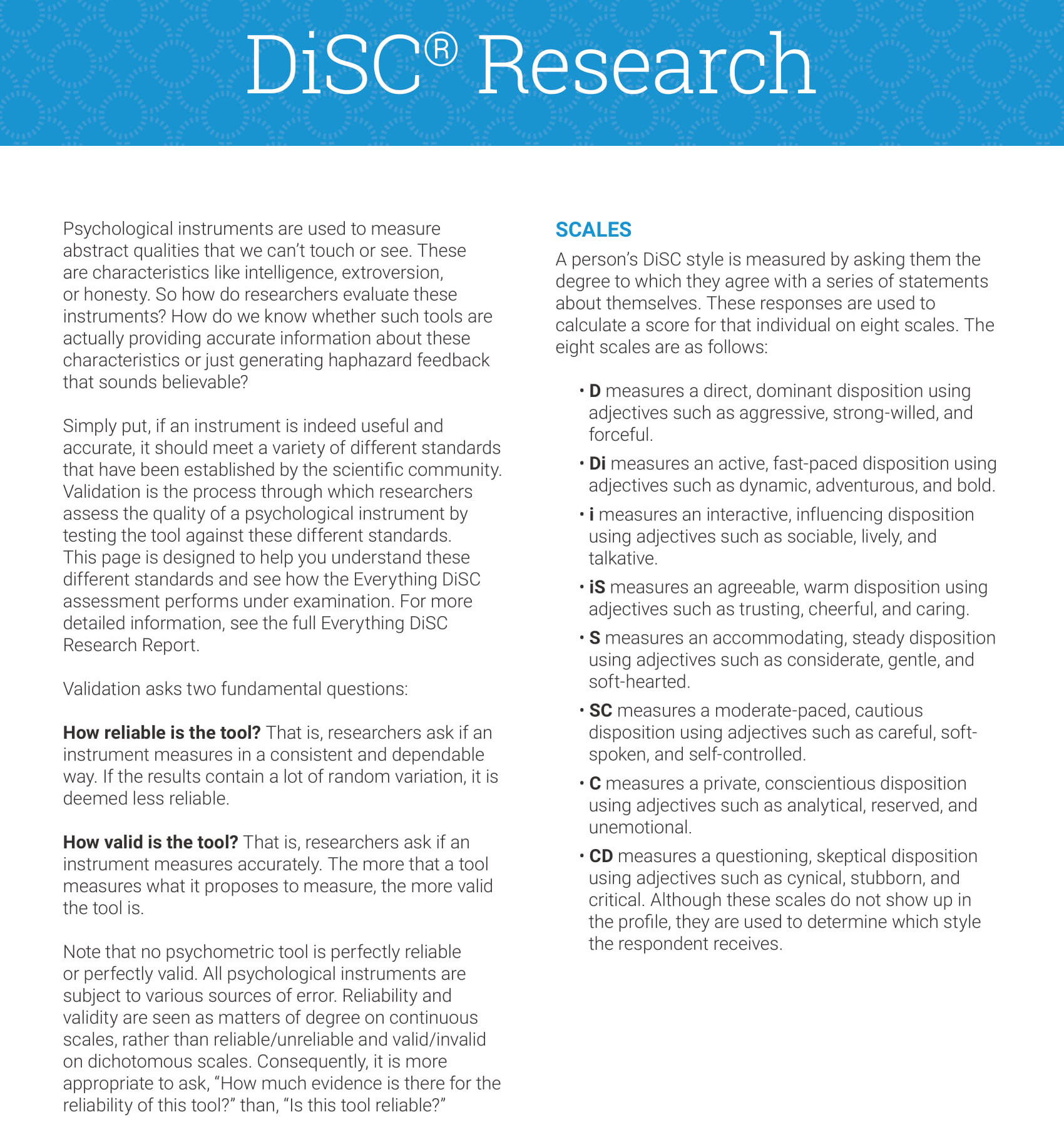 Disc Research