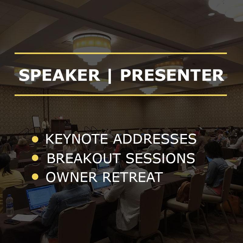 SPEAKER | PRESENTER