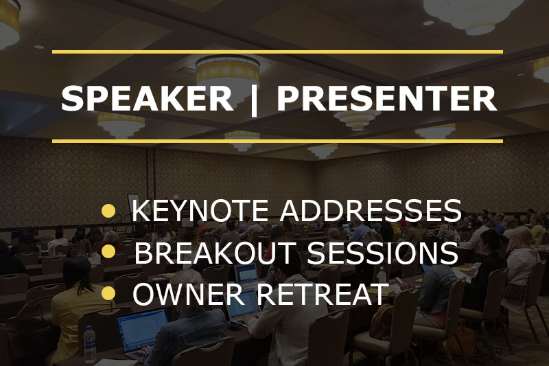 speaker presenter