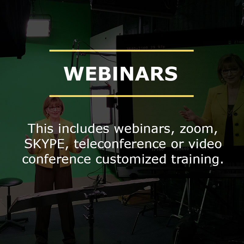 BARB BRUNO'S CUSTOMIZED VIRTUAL TRAINING